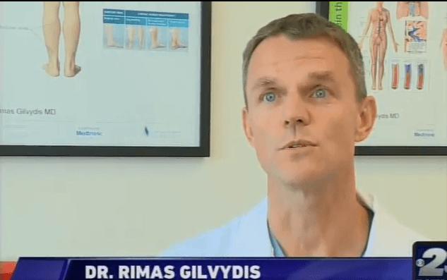Dr Rimas Gilvydis on the News