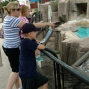One of our patients enjoying a day with her family.