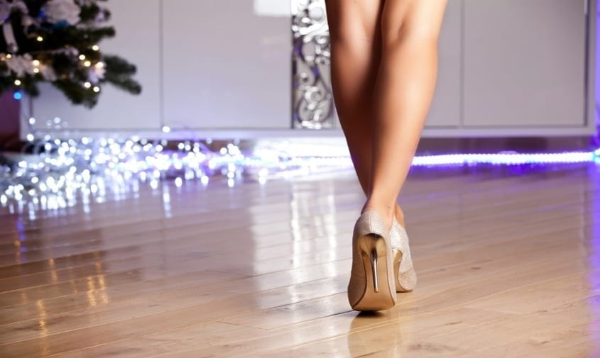 Healthy Legs without Varicose and Spider Veins