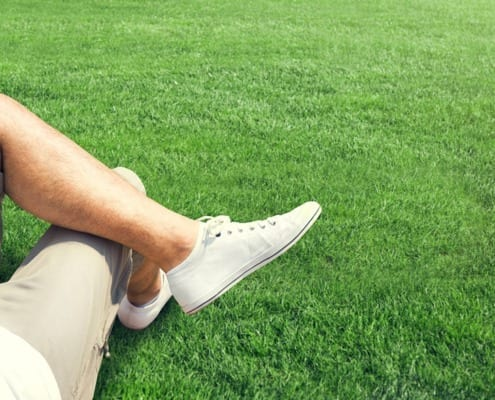 healthy legs & good circulation