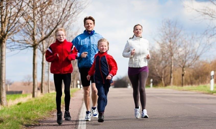 Improving blood circulation through exercise